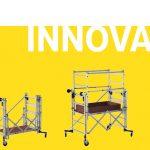 Nouveauté 2019 : Nano'tower, mini échafaudage, maxi agilité