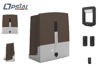 Kit de motorisation Opsial® pour portail coulissant