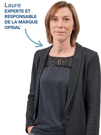 Laure, experte PROLIANS et responsable de la marque Opsial